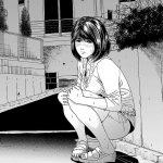 【人妻エロ漫画】火照った顔してうずくまっている近所の奥さん。一人で歩けないから家まで連れて帰って欲しいとのこと。バイブレーションの音が・・・。【石紙一】