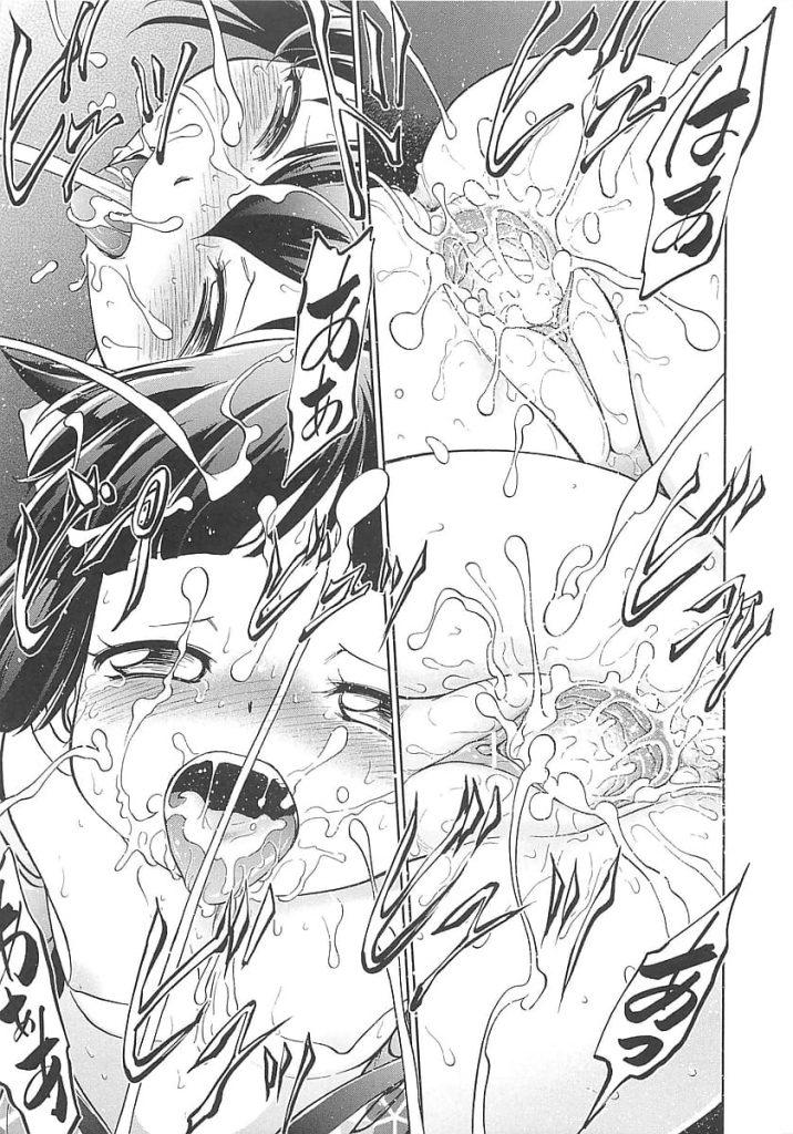 【ロリコンエロ漫画】狐の面をつけた男達に犯されまわされる女児達!山中で神を祀る行事を見に行く女児!見つかり生贄として捧げられる!【摩訶不思議】